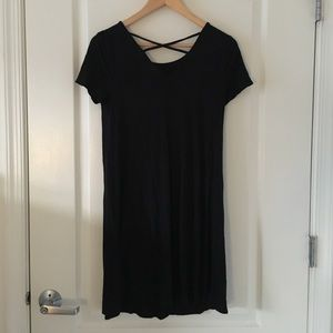 Black Mossimo Criss Cross Dress
